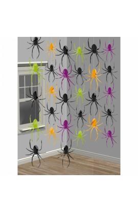Dekoracja wisząca  pająki