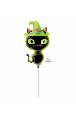 """Balon foliowy 14"""" Czarny Kot"""