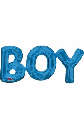 Balon foliowy napis BOY
