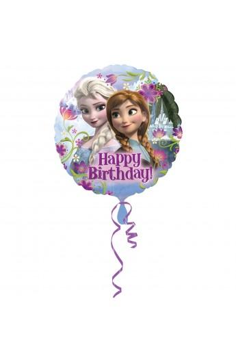 """Balon foliowy 18"""" urodzinowy Frozen"""