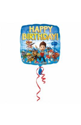 """Balon foliowy 18"""" urodzinowy Psi Patrol"""