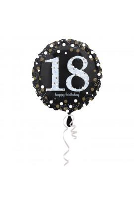 Balon foliowy na 18 osiemnastka