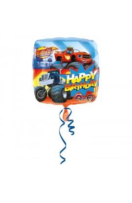 """Balon foliowy 18"""" urodzinowy Blaze"""