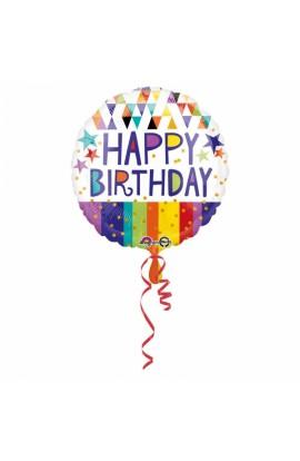 Balon na 18 urodziny Happy Birthday