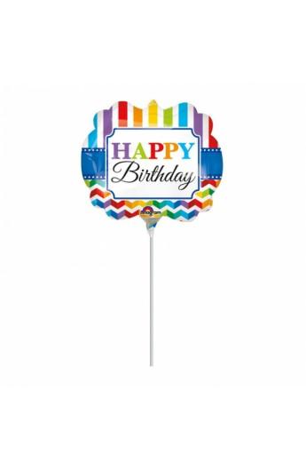 "Balon foliowy 14"" Happy Birthday"