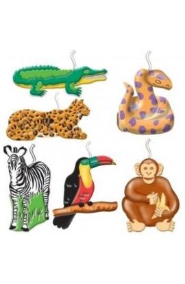 Świeczki Safari