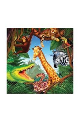 Serwetki małe Safari