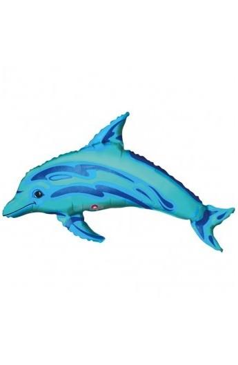 """14"""" Ocean Blue Dolphin"""