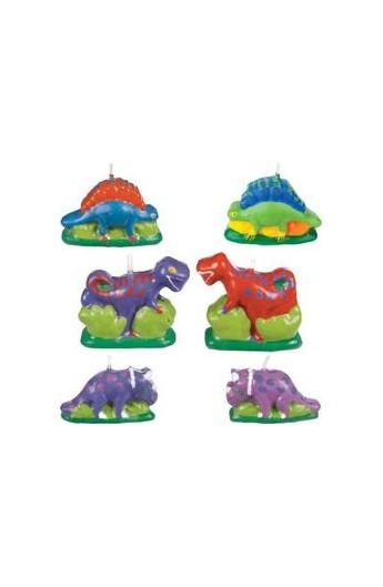 Świeczki dinozaury