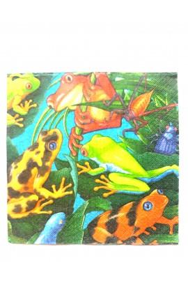 Serwetki żaby