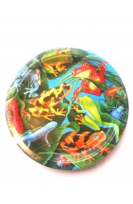 Talerze żaba małe