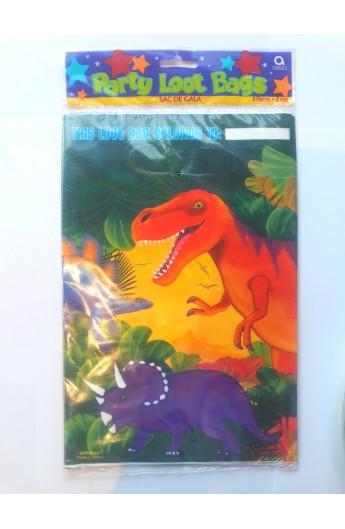 Torebki upominkowe dinozaury