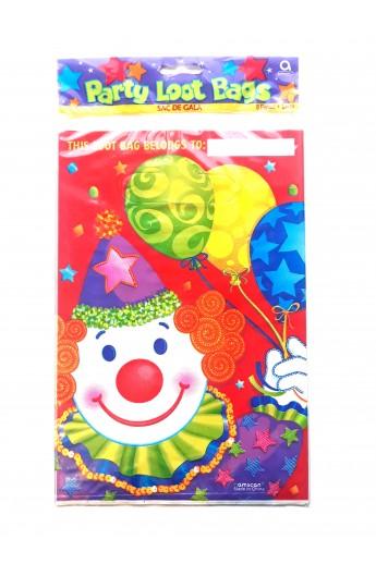 Torebki upominkowe klaun