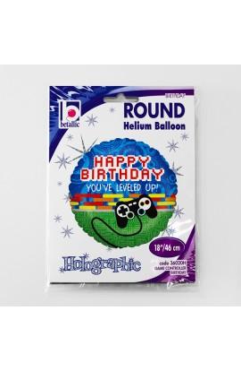 "BALON FOLIOWY 18"" GAME CONTROLLER BIRTHDAY"