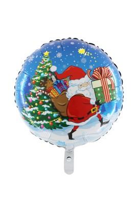 """Balon foliowy 18"""" Mikołaj"""