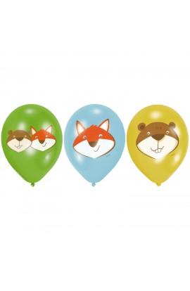Balony gumowe lis i bóbr