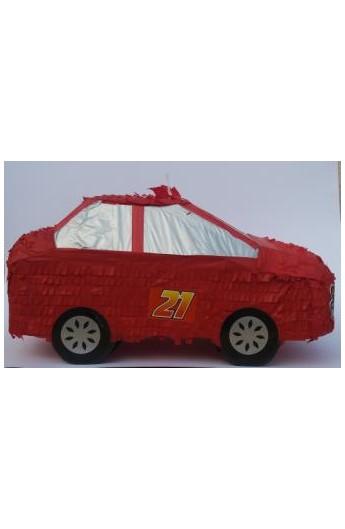 Piniata samochód jak Zygzak McQueen