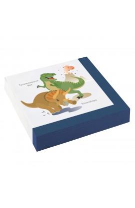 Serwetki Dinozaury 20 szt.