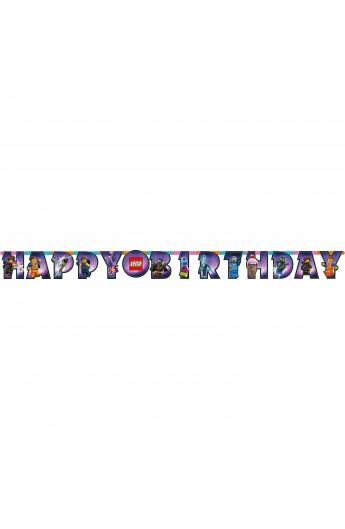 Girlanda Happy Birthday Lego Movie 2