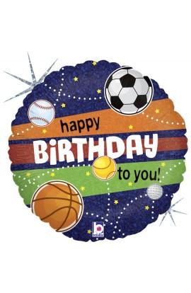 """Balon foliowy 18"""" Sportowe urodziny"""