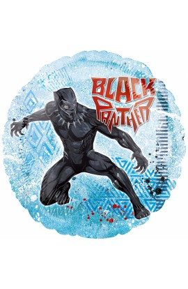 "BALON FOLIOWY 18"" BLACK PANTHER"