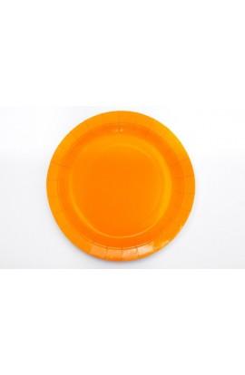 """TALERZYKI PAPIEROWE """"pomarańczowy"""""""