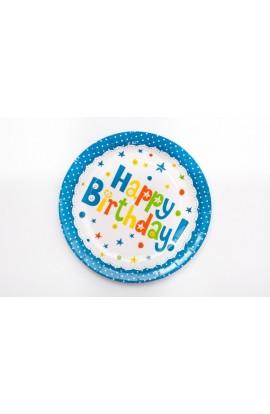 """TALERZYKI PAPIEROWE""""Happy BirthDay"""""""