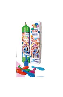 Butla HEL jednorazowa na 25 balonów