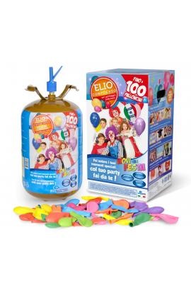 Butla z helem na 100 balonów jednorazowa