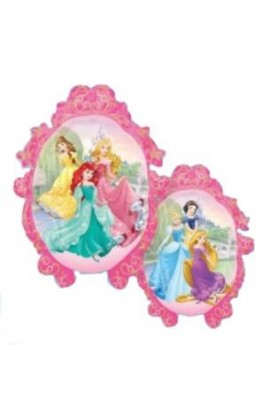 """Balon foliowy dwustronny 24"""" Księżniczki Disney'a"""