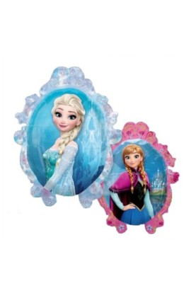 "Balon foliowy dwustronny 24"" Frozen"