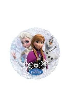 "Balon foliowy holograf 21"" Frozen"