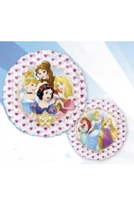 """Balon foliowy holograf 21"""" Księżniczki Disney'a"""