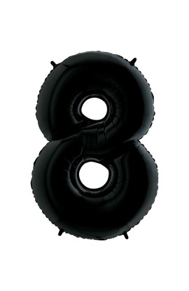 "40"" 101 CM CYFERKA CZARNA 8"