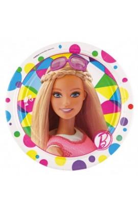 Talerze Barbie