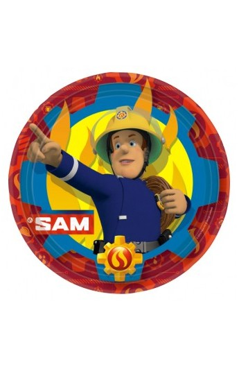 Talerze Strażak Sam