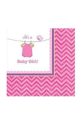 Serwetki Baby Girl