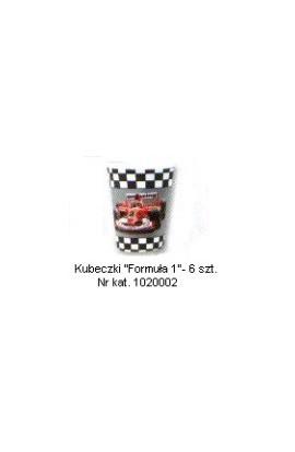 Formuła 1 - Kubeczki