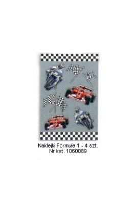Formuła 1 - Naklejki