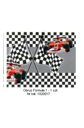 Formuła 1 - Obrus 135x180 cm