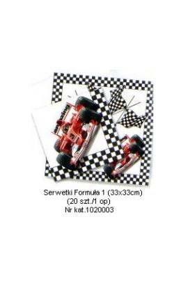 Formuła 1 - Serwetki