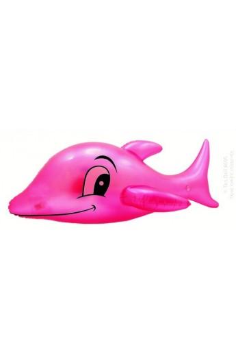 68 cm Delfin Różowy