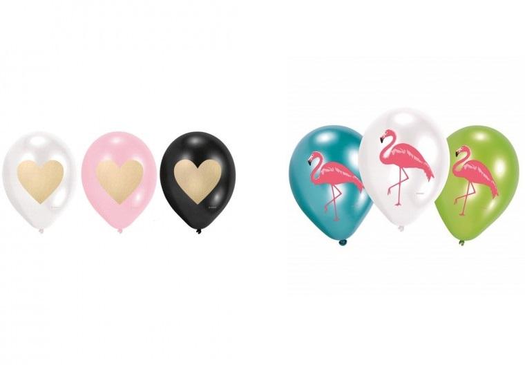 balony urodzinowe 50