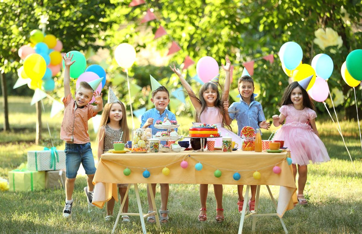 Impreza w ogrodzie